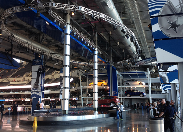 Ford Exhibit at Cowboy Stadium