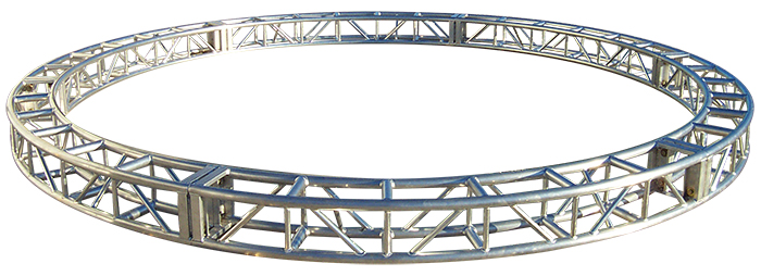 circular and oval truss