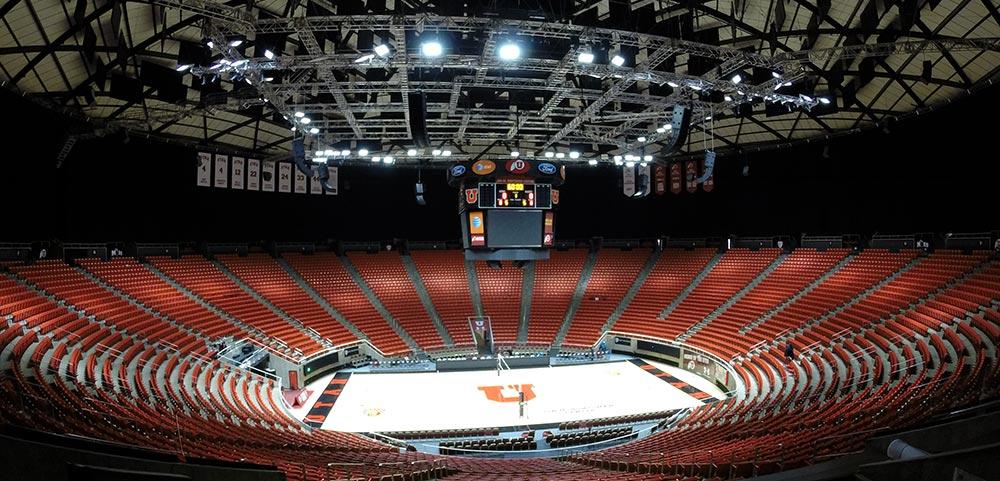 The Huntsman Arena at the University of Utah