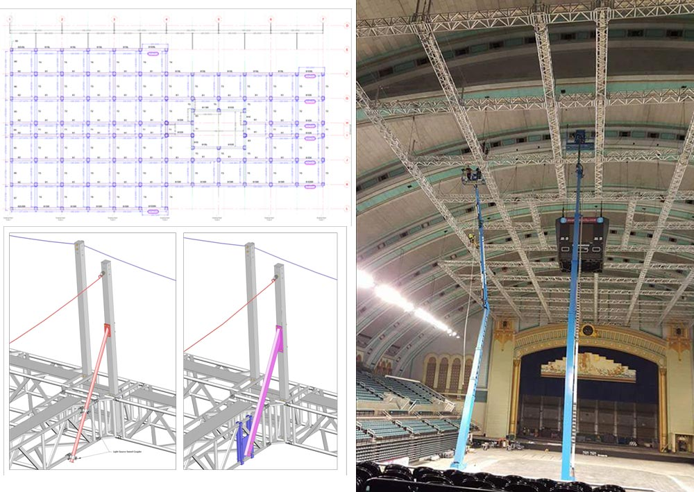 Atlantic City Arena Install