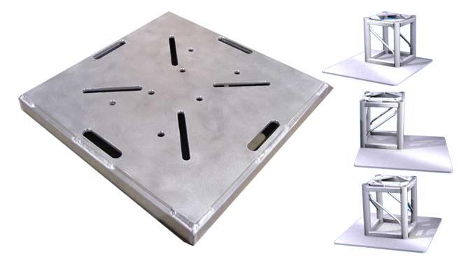 Xlite Baseplates & Weld-on Plates