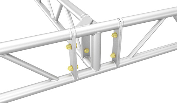 3-Way Ladder Truss Corner Block