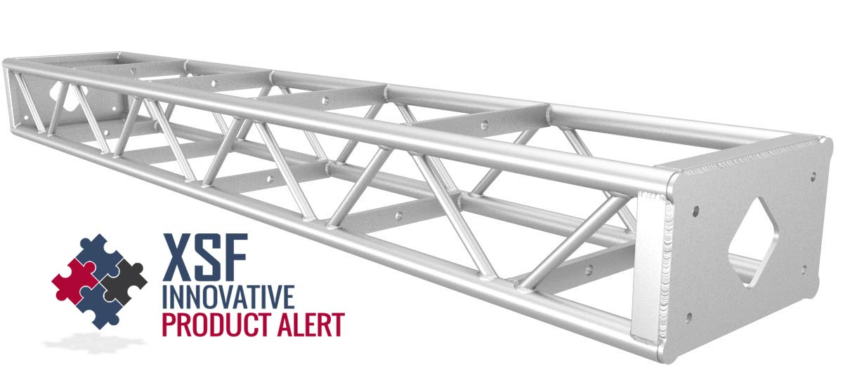 "12"" by 18' Box Truss with Protective Bolt Plate"