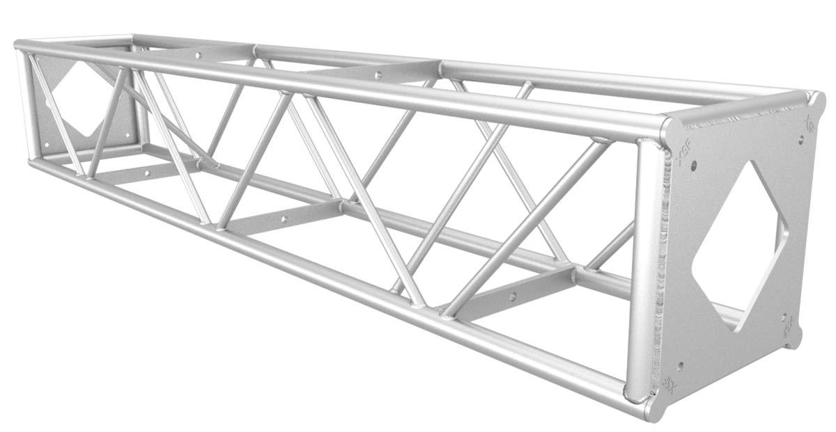 20.5″ x 20.5″ Protective Bolt Plate Utility Truss (patent pending)