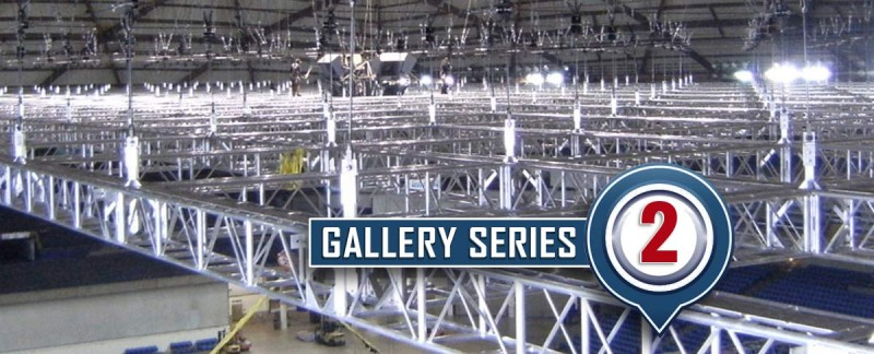 Arenas and large truss Grid Video
