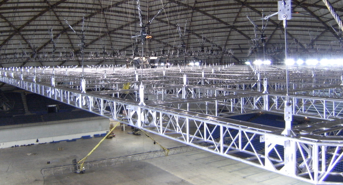 Large Truss Structure in Tacoma