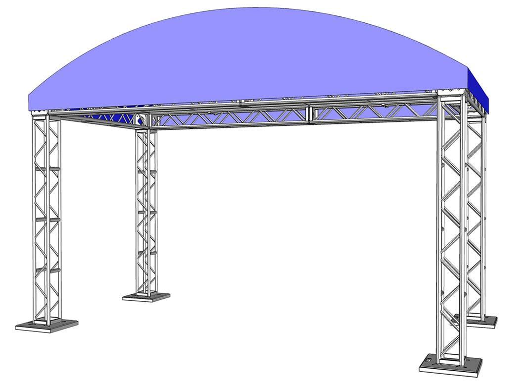 20 x 10 Modular Truss System - Assembled