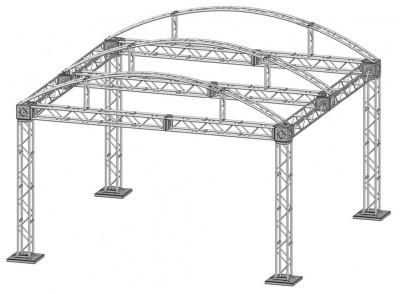 20 x 20 Modular Truss System - Skeleton