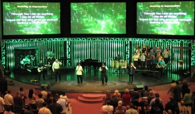 Goal Post Systems for Houses of Worship
