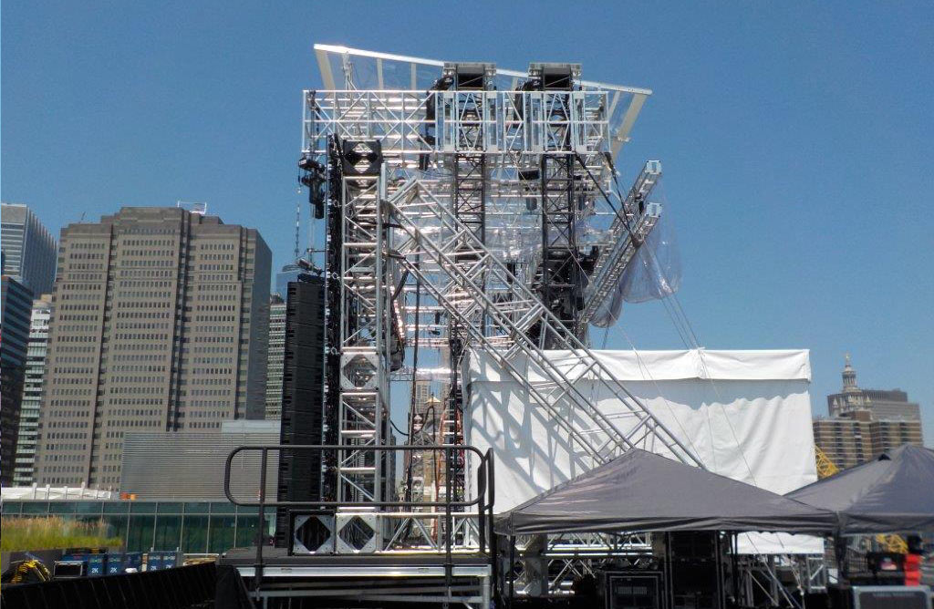 Pier 17 Truss Roof System -New York City -Side Towers