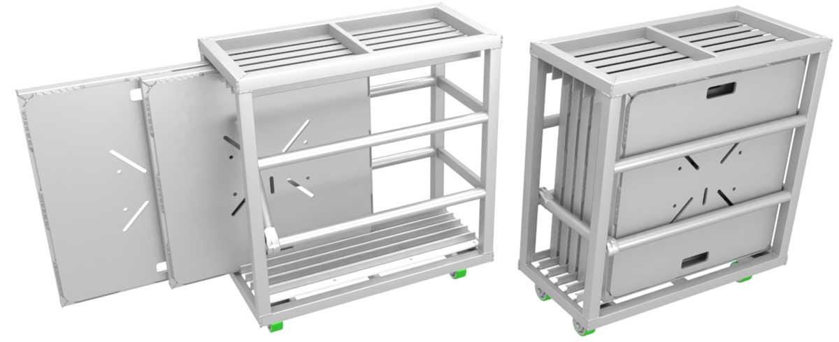 Base Plate Cart -truss Accessories