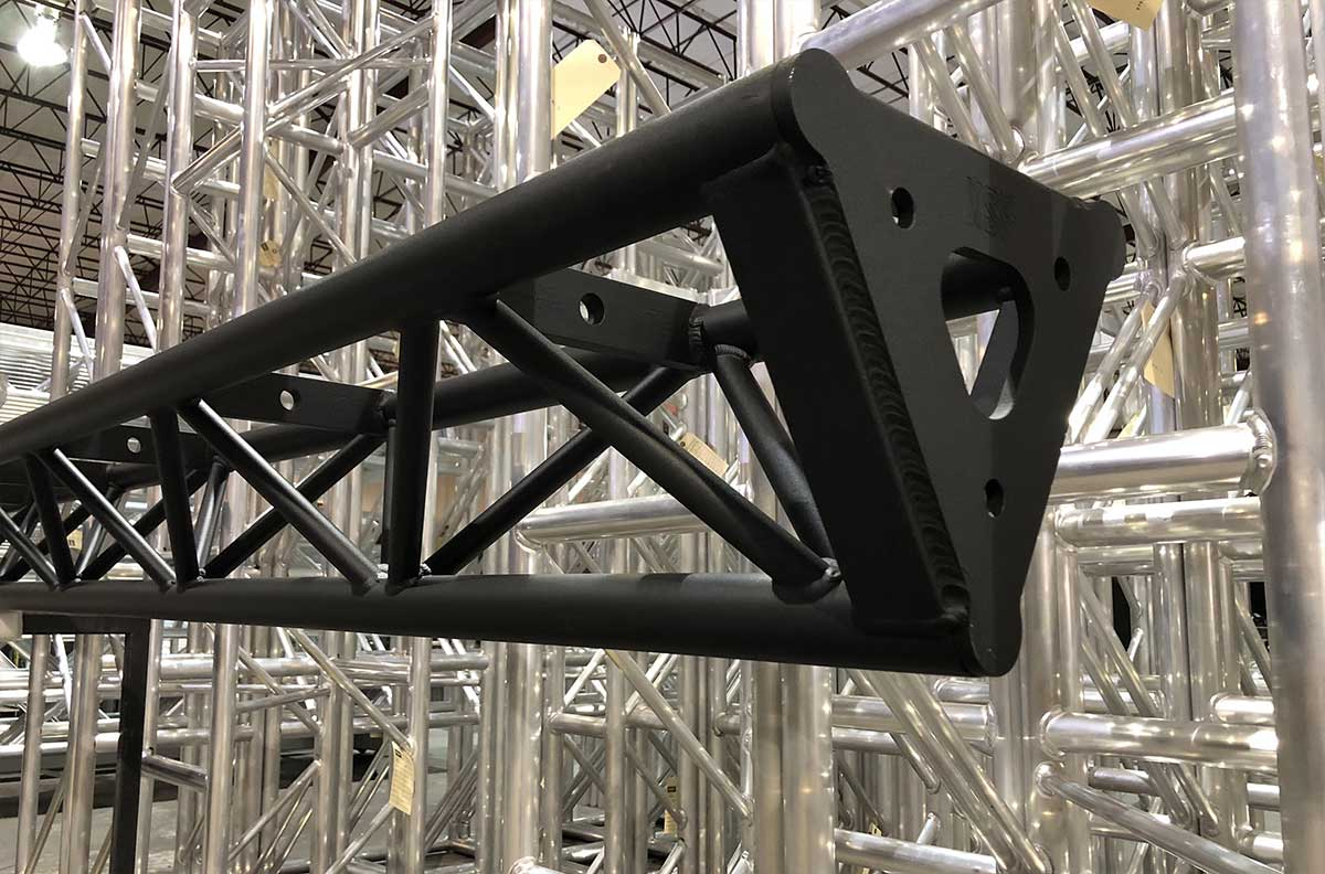 powder coated Triangle Truss