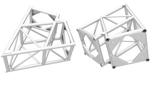 Aluminum Truss Wedges - XSF Truss