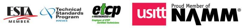 USITT - NAMM -ETC{P Proud Members