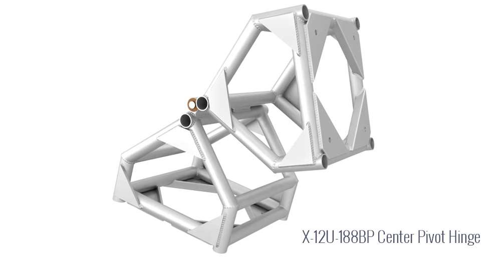 "X 12"" U- 188BP Center Pivot Hinge"