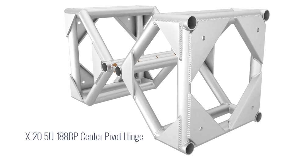 "X 12"""" U- 188BP Center Pivot Hinge"