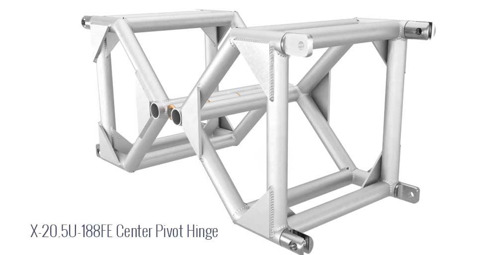 "X 20.5"" U- 188FE Center Pivot Hinge"