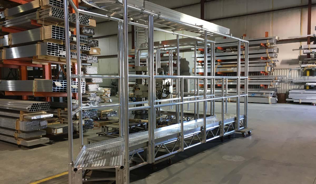 Aluminum Catwalks - XSF Truss