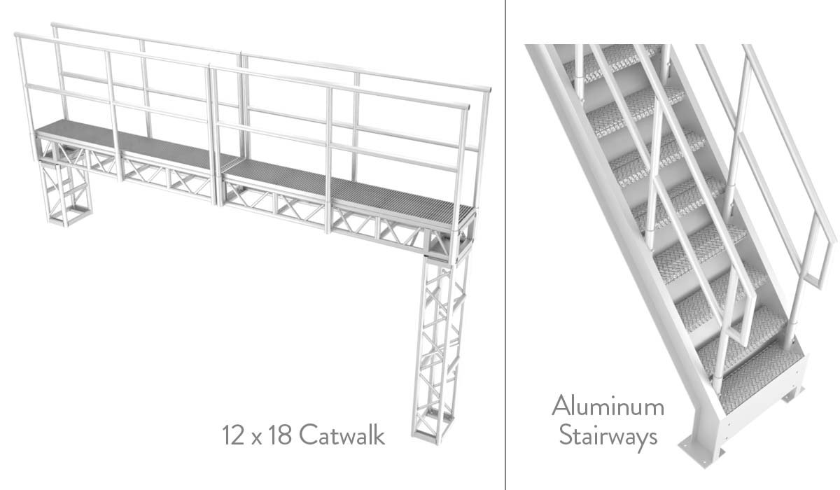 Stairways and Catwalks