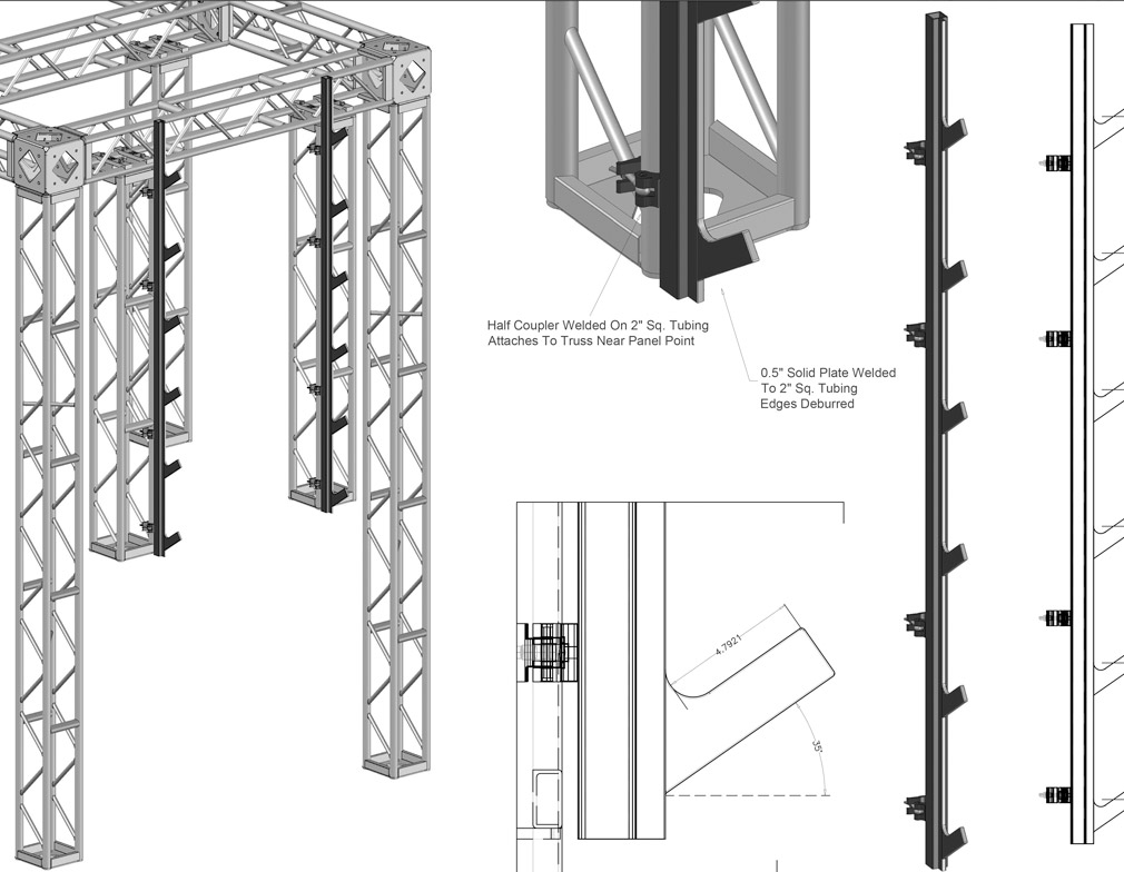 Gym Facility Drawings