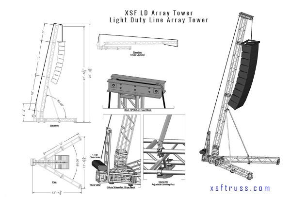 Light Duty Line Array