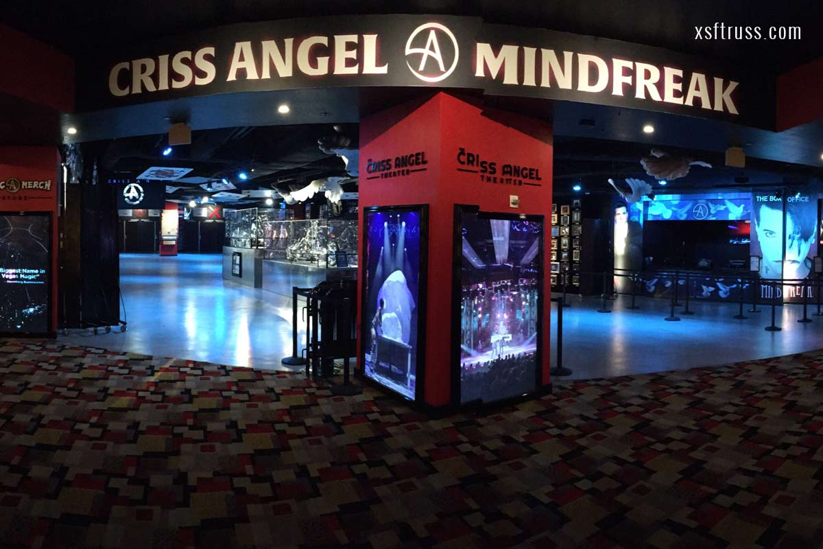 Mindfreak Theater Las Vegas