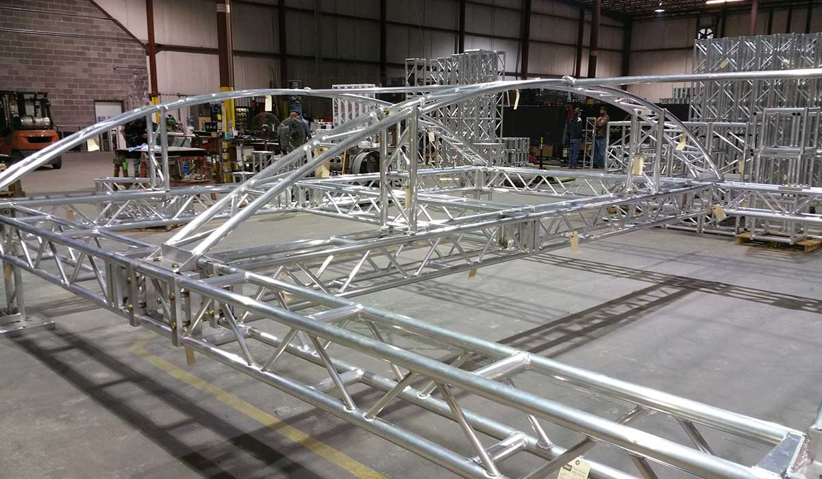Modular Truss System with Canopy