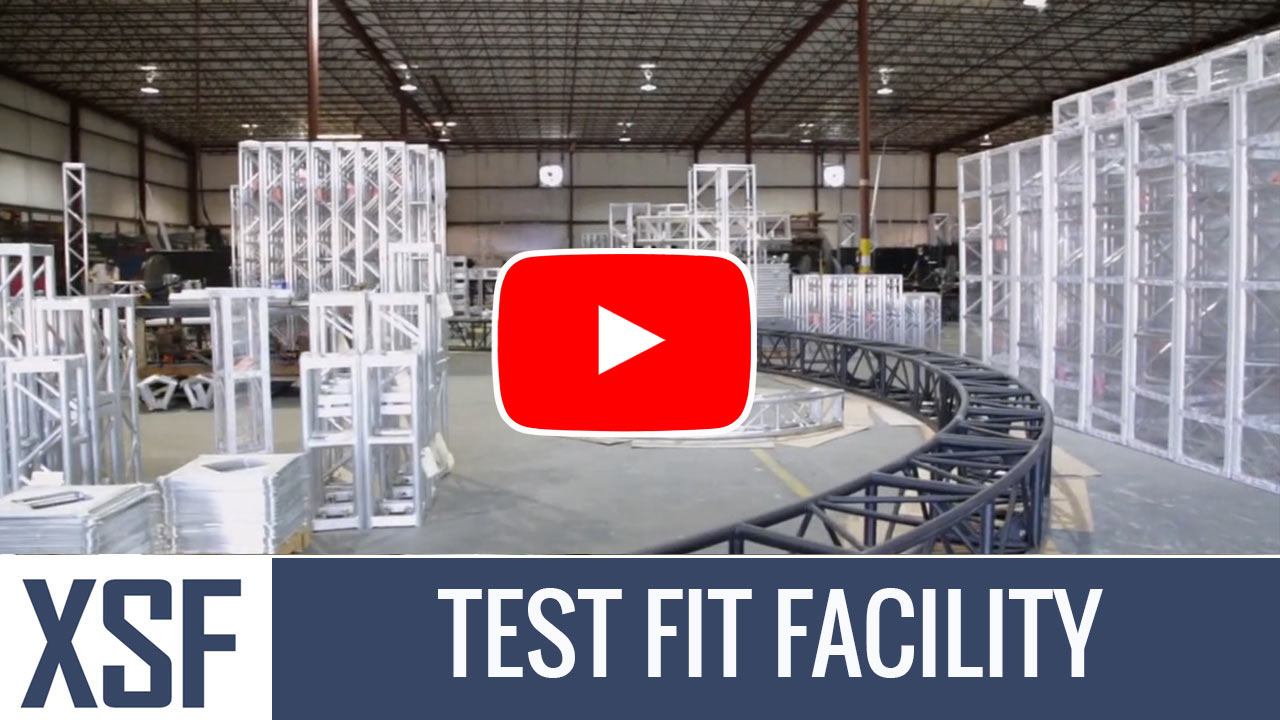 Test Fit Facility -Truss Fabriction