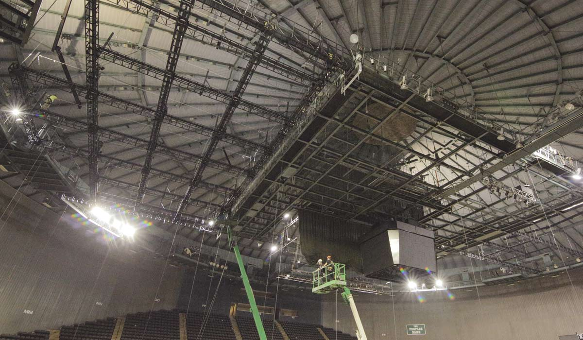 Dome Catwalks and Grid