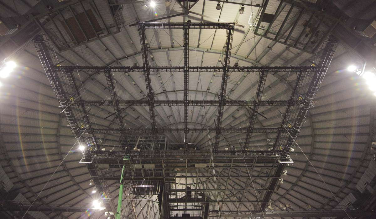 Catwalks and Truss Dome